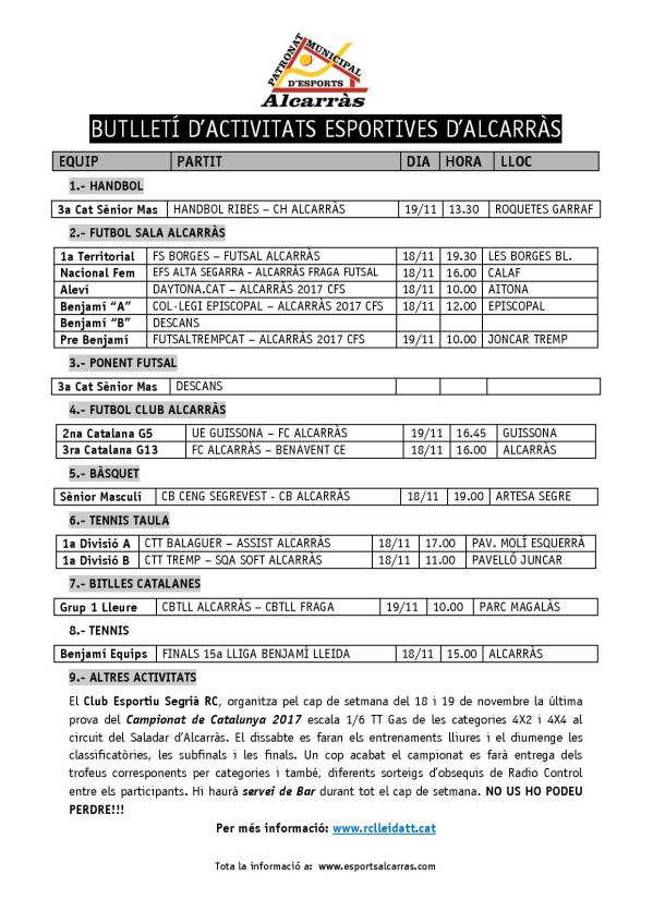 Butlletí 18 i 19 NOVEMBRE 2017-page-001