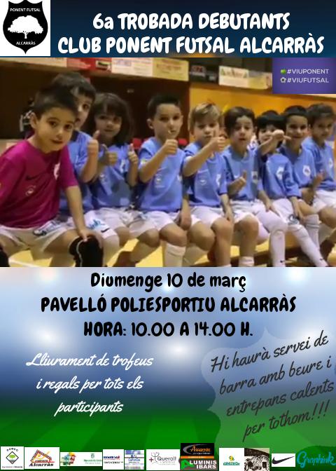 CARTELL TROBADA DEBUTANTS FUTSAL 10_03_2019