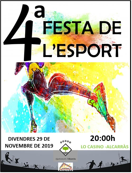 cartell 4a Festa de l'esport original.JPG